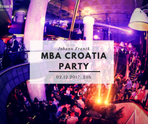 MBA CROATIA PARTY